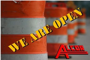 Open while construction holiday