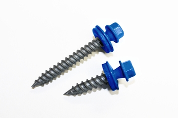 Heron Blue Sheet Metal Screws