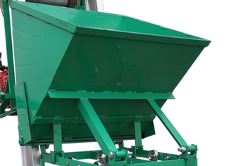 Gravel Bucket for Ladder Hoist