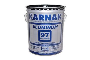 97 AF Fibered Aluminum Roof Coating