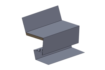 Roof to Wall Vent