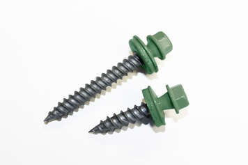 Mist Green Sheet Metal Screws
