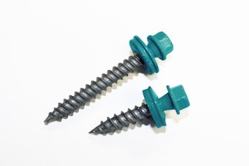 Pacific Turquoise Sheet Metal Screws